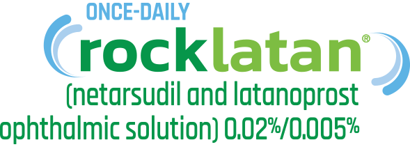 Rocklatan ophthalmic solution logo